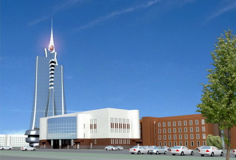 Аудиторный корпус Челябинского государственного университета