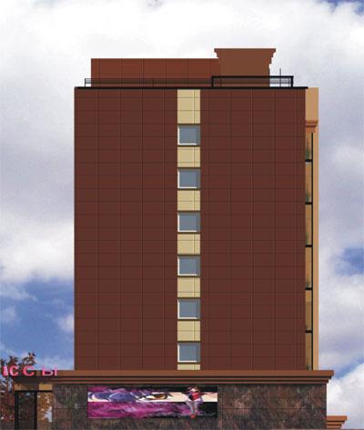 Проект на реконструкцию здания «Фасад административного здания пл. Революции, 4»