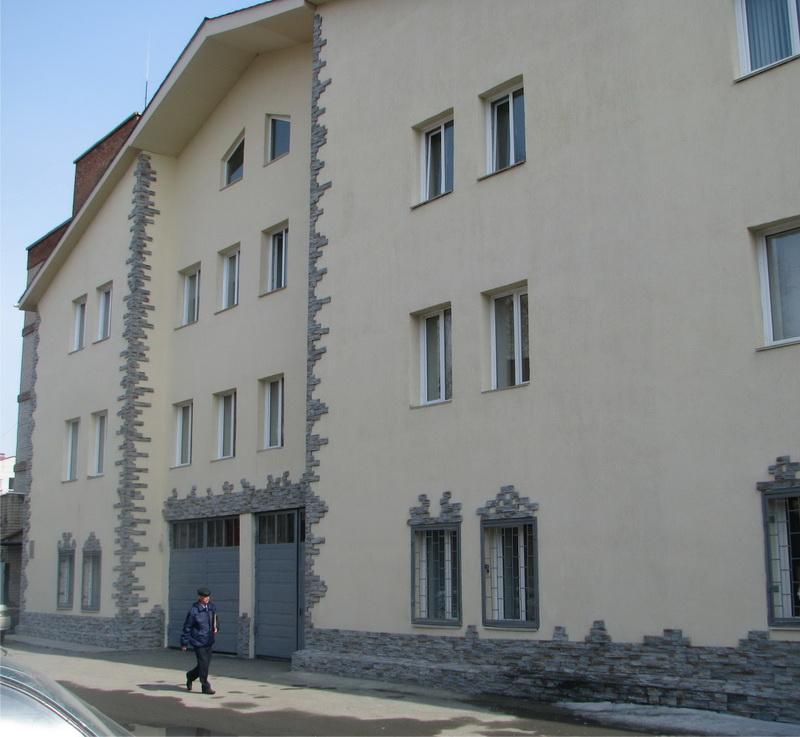 Реконструкция здания пожарной команды ст.Челябинск, Привокзальная, 15